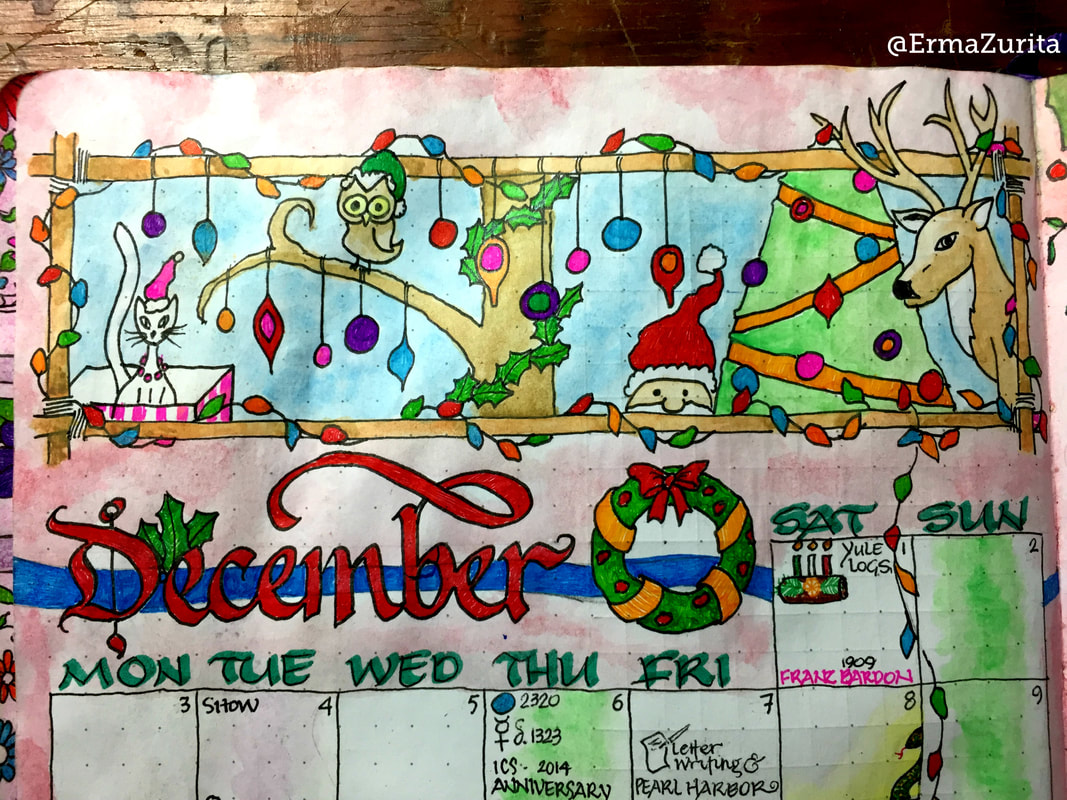 December 2018 Month Layout